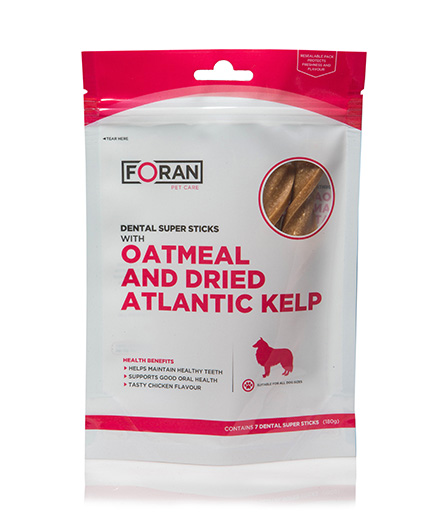 Oatmeal and Dried Atlantic Kelp